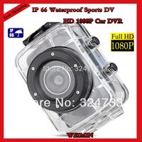 Full HD 1080P Sport Helmet Outdoor Camera SJ1000 Underwater 30m Mini DV Camcorder H.264 1920*1080,Sport DV,Car Dvr