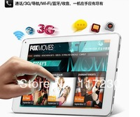 Freeshipping 9 inch Cube Talk9 U39GT 3G Quad Core Android 4.2 MTK8389T 1G/16G 1.5GHz GPS Bluetooth Phone Call Tablet PC