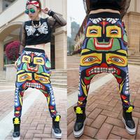 Jazz hiphop sport wear women Jazz dance Hip-hop pants Spring and summer Loose Free shipping