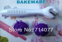 Freeshipping 3PCS/SET Food Grade Plastic Six Flower Pieces Roller Cake Decorating Bakeware Cake Tool Fandont Mold 010081