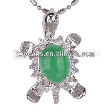popular green jade pendant