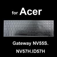 TPU Keyboard Film Skin Cover for Acer Gateway NV55S.NV57H.ID57H, for 5830.5755G.V3-571G.V3-551.V3-771