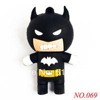 New arrival free shipping USB Flash Drive Creative Design Batman Data Storage Pen Drive 8GB/16GB/32GB USB Flash Memory Stick