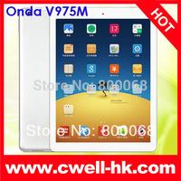 Onda V975M 4K Video Playing Tablet PC Android 4.3 Amlogic AML-M802 Quad Core 9.7 Inch Retina 2GB RAM 16GB/32GB ROM Bluetooth