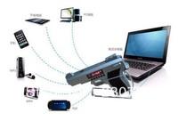 DHL Free Shipping 2013 Newest Portable Stereo Speaker TF card Speaker Gun Shape Best Toy Gift 20pcs