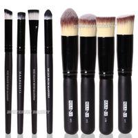 8pcs Makeup Brushes Set Foundation Nose Eye Shadow Shader Blusher Brush Cosmetic