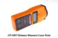 CP-3007 LCD Screen Ultrasonic Distance Measurer Digital rangefinder Range Finder with Laser Pointer with Retail box