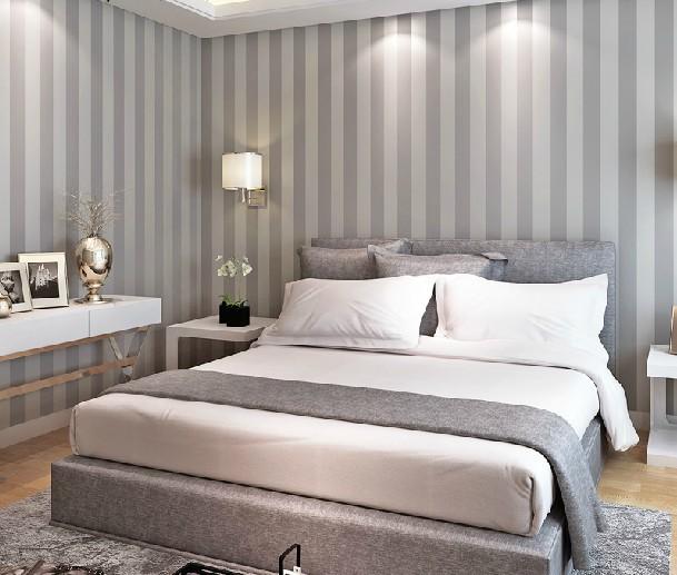 Online kopen wholesale grijze muren slaapkamer uit china grijze muren slaapkamer groothandel - Moderne woonkamer behang ...