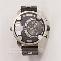 New Fashion Men Quartz Watches Men Luxury Brand sports casual Leather Strap Watches  Military Watches  DZ7256