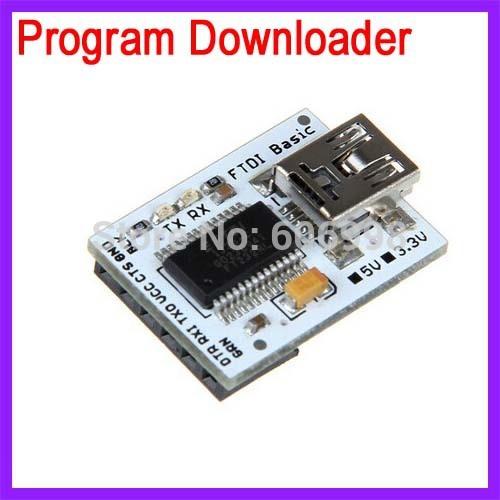 5pcs/lot CP2102 USB To TTL Module Burner Download Line For Arduino UNO R3 Pro Mini