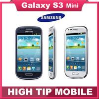 Unlocked Original samsung Galaxy S3 mini I8190 Android Dual-core 8GB Storage Wifi GPS 5MP Camera  Refurbished Cell phone