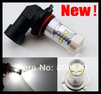 2pcs H10 9145 9140 6 LED CREE SMD 30W Bright Power Fog Light Bulb Lamp White  DRL Low Beam Headlight 12V 24V