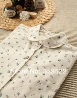 little flowers print long sleeve shirt  blouse vintage