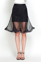 YIGELILA 5154 Women Girls All-match Mermaid Skirts Gauze Skirt 2014 Free Shipping