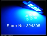 100 X 31MM 36MM 39MM 41MM Double pointed Festoon Dome light Car Reading Light License plate light  White blue red pink ice blue