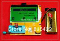New 2014 12864 LCD Transistor Tester Capacitance ESR Meter Diode Triode MOS NPN LCR Mega328