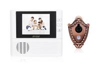 Audio Door Phone Doorbell Waterproof Direct Selling Sale 2014 White Phone Intercom Wired 2.8 Visual Smart Multicolour Cat-eye
