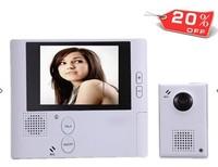 Video intercom doorbell electronic doorbell cat-eye Visual 2.8 intelligent household wireless peephole