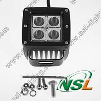 4pcs lot 3inch IP67 Mini Spot/Flood 12V24V 1400LM 16W CREE LED work light 6000K TURCK,CAR,BOAT,4X4 offroad driving lighting fog