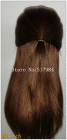 """120% Density!UPS Free! Brazilian Human Hair Full Lace Wigs 4/27# color Dark Brown 12""""20""""Silk Straight Brown Lace A38"""