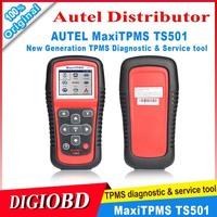 2014 New Arrival Original AUTEL MaxiTPMS TS501 With OBD2 Adapters TPMS Diagnostic & Service Tool TS 501 Update Via Autel Website