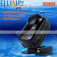 2014 New DV Sport Camera 30M Water Resistant Action Cameras 1080P HD Helmet Camera Underwater Outdoor Cameras Sport DVR SJ1000