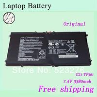 C21-TF301 Original Battery For ASUS C21-TF301 Transformer PAD TF700 TF700T laptop battery 7.4v 3380mah