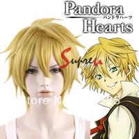 Pandora Hearts Oz.vessalius Short Yellow Blonde Anime Cosplay Hair Wig