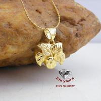 JHGOO80167 Classic 18K Gold Plated fruit pendants 4pcs/lot