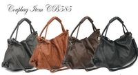 New 2014 Women Bags Soft Leather Handbags Casual Style Women Messenger Bags Shoulder Bag 4 Colors Available