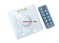 DC 12V / 24V 8A 144W IR Remote LED Single Light Dimmer 12 Key Adjustable Brightness By Control Screw + Free Shipping