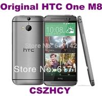 3pcs/lot Original HTC One M8 Unlocked 16GB Internal Android OS 4G smartphone Quad core 4.7'' Refurbished  DHL EMS Free Shipping