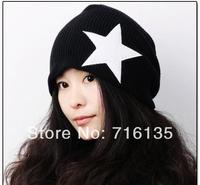 Free shipping(250pcs/lot)Hip-Hop Knitted Long Beanie women men hat winter cap / Acrylic Ski Warm Hat Skull Cap Multi Color