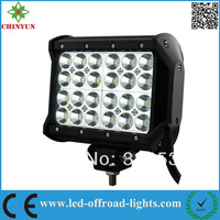 6.57inch  72W cree off road led light bar  four row led light bar IP67 waterproof  for Jeep/off road/4wd/trucks/atv/4x4