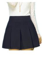 Free Shipping 2014 Summer New Women Plus size High waist Pleated Skirts,women  Thin Chiffon puff Skirt : L XL XXL 3XL 4xl 5XL