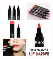 1pc Stynda 3concept eyes 3ce lip marker The lipstick pen # 1 RED