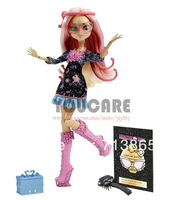 Monster High Frights, Camera, Action! Viperine Gorgon Doll,Genuine Original Monster High Doll,Free shipping