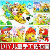 Child diamond painting z diy handmade sticker crystal mosaic 27.5x25cm 10pcs/lot free shipping