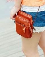 Manufacturers selling 2014 The  new  Mini  Messenger bag  Women's  mobile phone bag wallet Free shipping B028