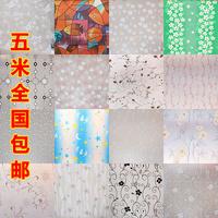 adhesive parede Window paper window stickers translucidus transparent bathroom glass dodechedron window film balcony wall paper