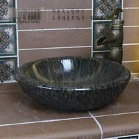 Art basin wash basin counter basin m-c009 travertine sink basin