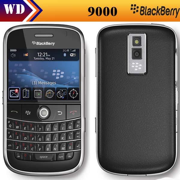 Unlocked 9000 Original Blackberry Bold 9000 Mobile Phone GPS WIFI 3G Cell Phone Refurbished(China (Mainland))