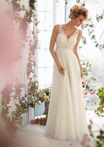2014 vendita calda abito backless abito da sposa in pizzo dettagli su nuovo bianco/avorio abito da sposa formato personalizzato 6-8- 10- 12- 14-16- 18- 20+++