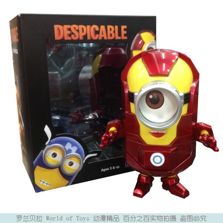 Model Iron Man 3d me 3d Minion Cos Iron Man