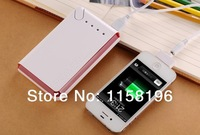 Mobile Power Bank 20000mAh Emergency External Battery Pack Charger For iPhone 4s 5 5s I9500 S4 S3 I9300 30PCS/LOT