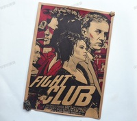 [ Mike86 ] Fight club Movie Vintage Paper  Posters Retro art Wall Decoration 30X42 CM  BL-292