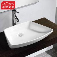 Minnie 67 44 ceramic plus size art basin counter basin fashion luxury washbasin fanghaped basin