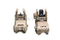 Wholesale 500pcs Back up sight Gen 1 front sight fit  for 20mm Weaver Rail Mounts