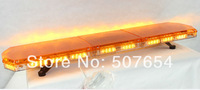"High quality  DC12V/24V 1.2m/48"", 88PCS*1W Led lightbar,warning lightbar,emergency lightbar,signal light,warerproof"