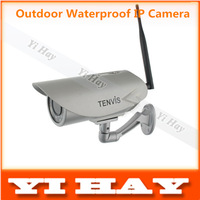 Outdoor TENVIS P2P Wireless Network IP Camera Webcam 720P H.264 Waterproof IR-Cut Night Vision Motion Detection freeshipping